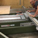 Creazione degli stampi di legno