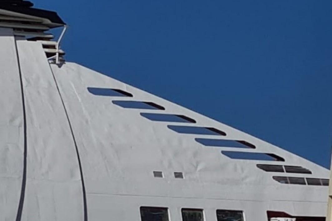 1. Fumaiolo nave da crociera