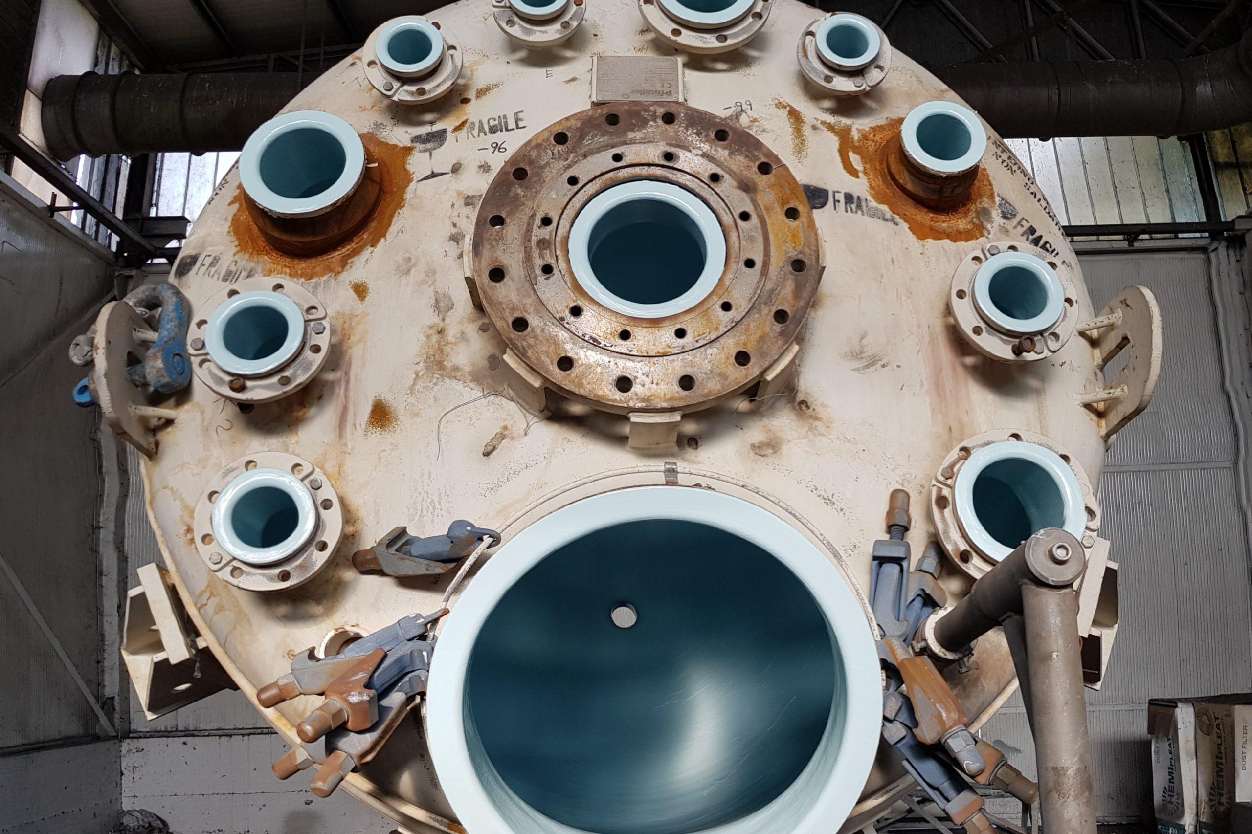 11. Belzona 1593 - Reattore di processo