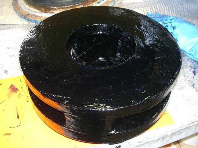 2. Rivestimento con elastomero Belzona 2131