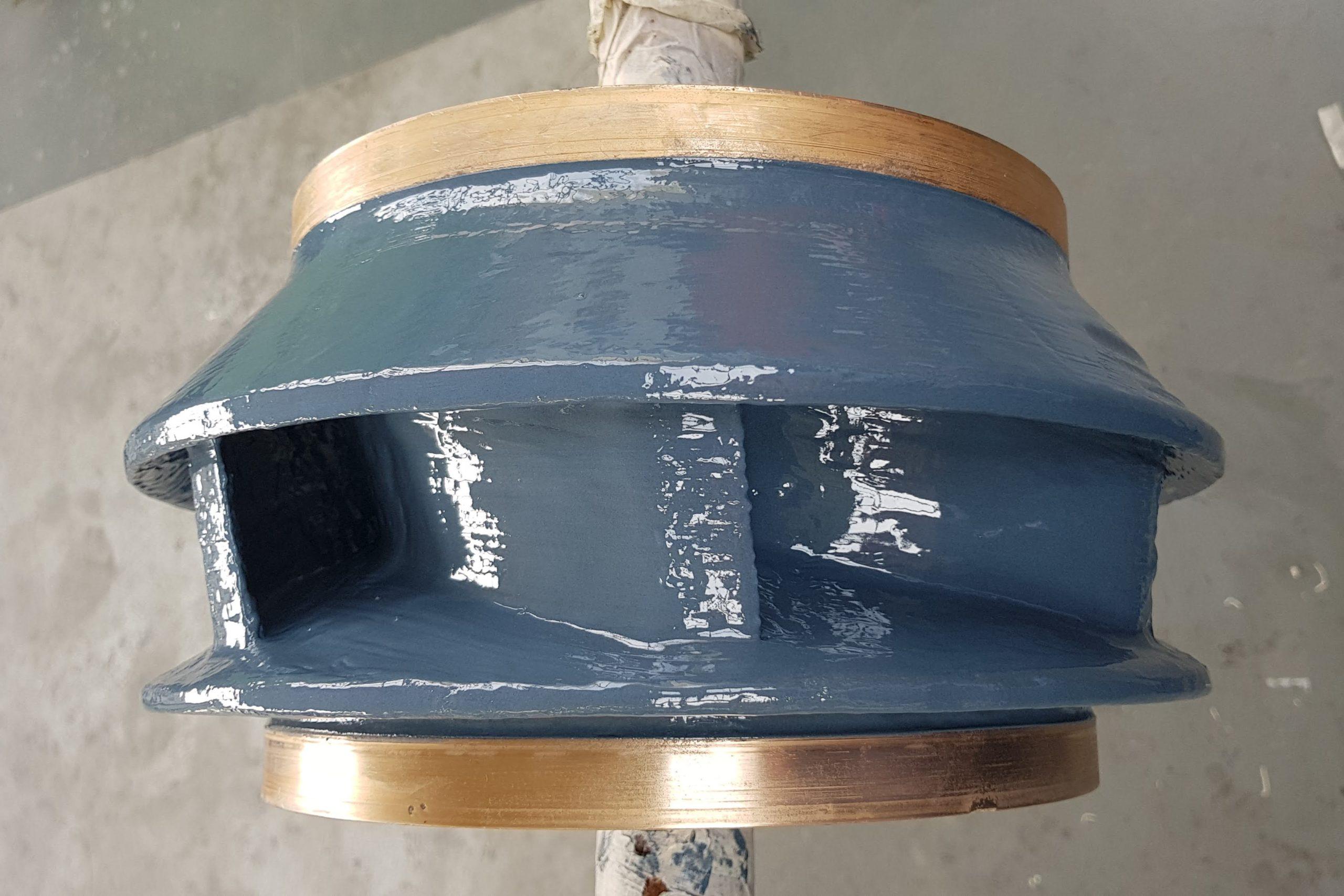 4. Rivestimento con coating ceramico Belzona 1321