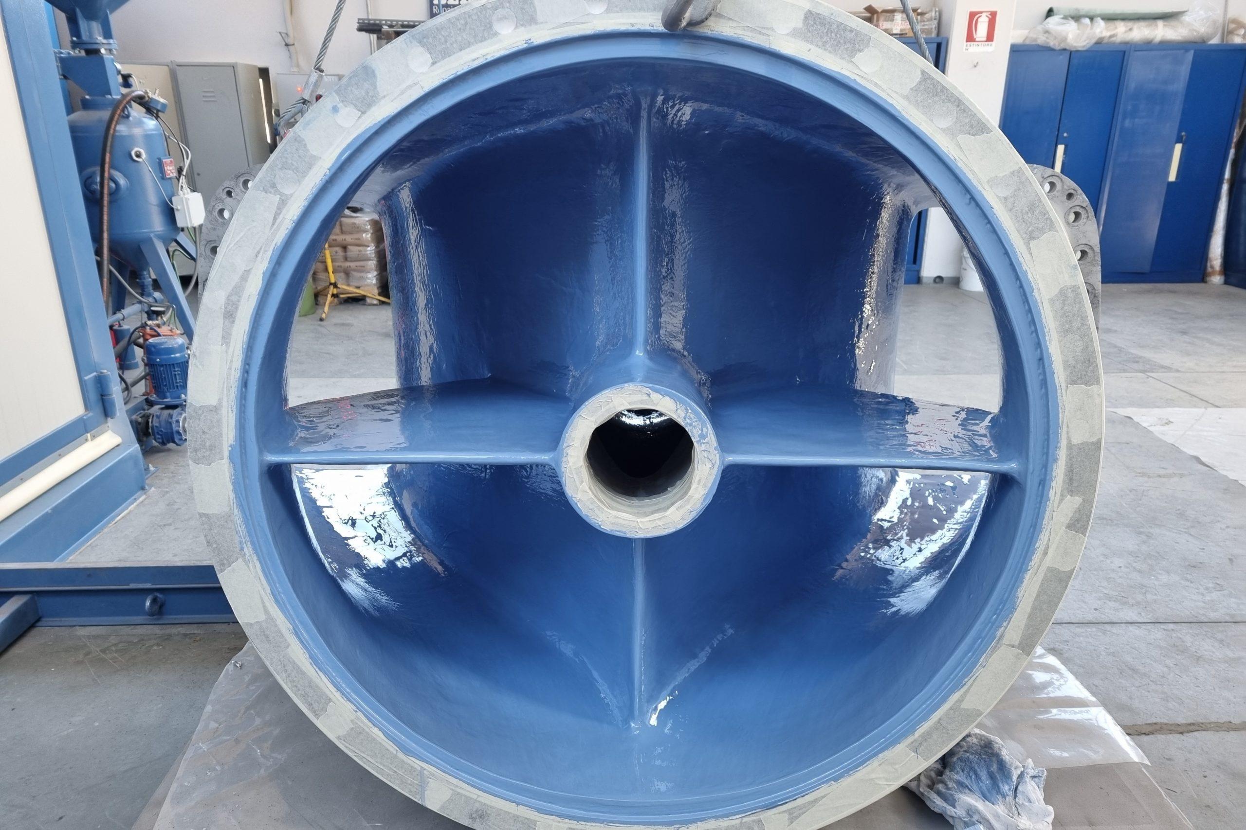 6. Rivestimento pompa settore geotermico