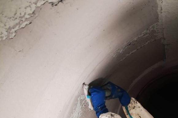 7. Ripristino superfici tubazione con Belzona 1121