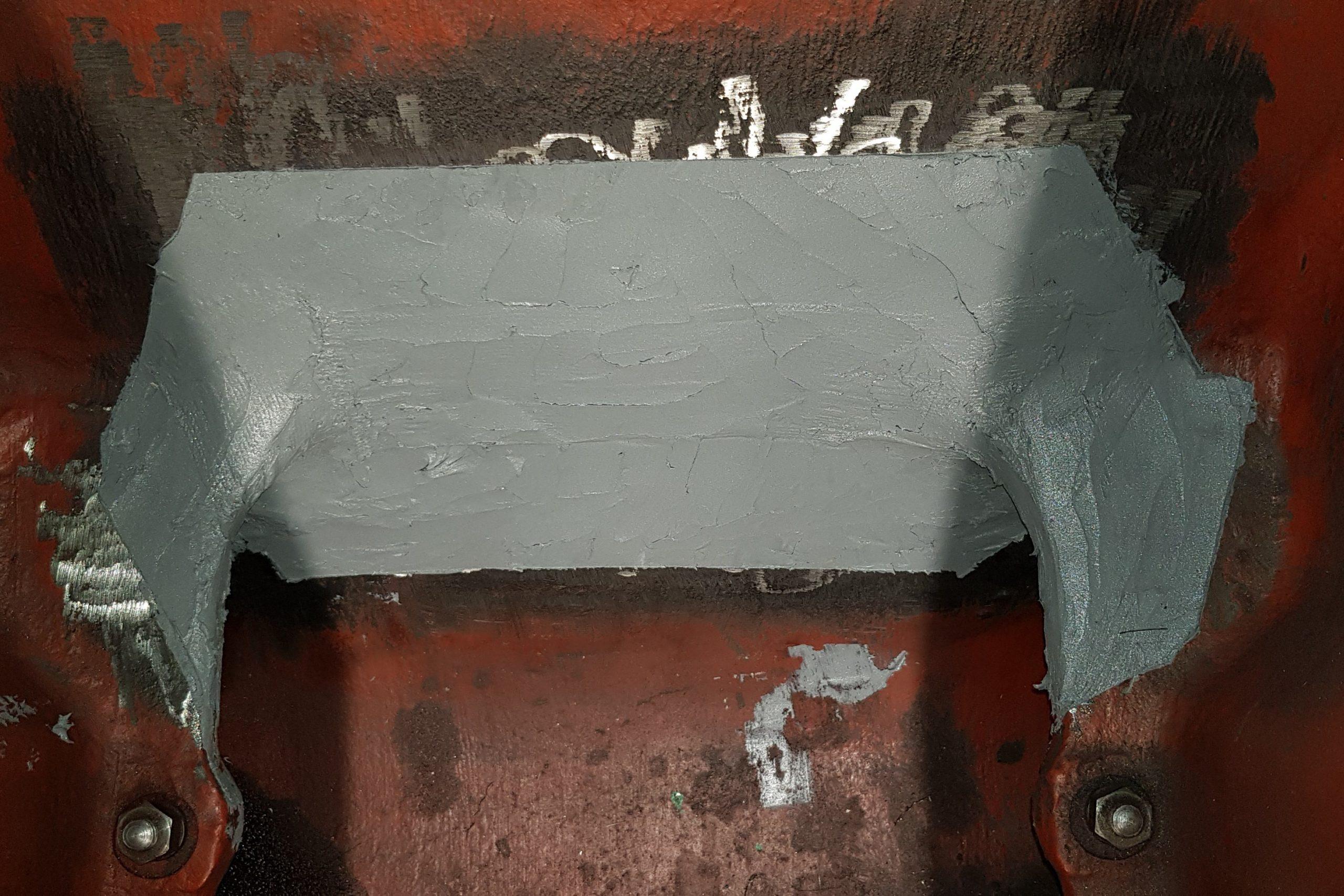 Belzona 1111 - Cricca su carter motore