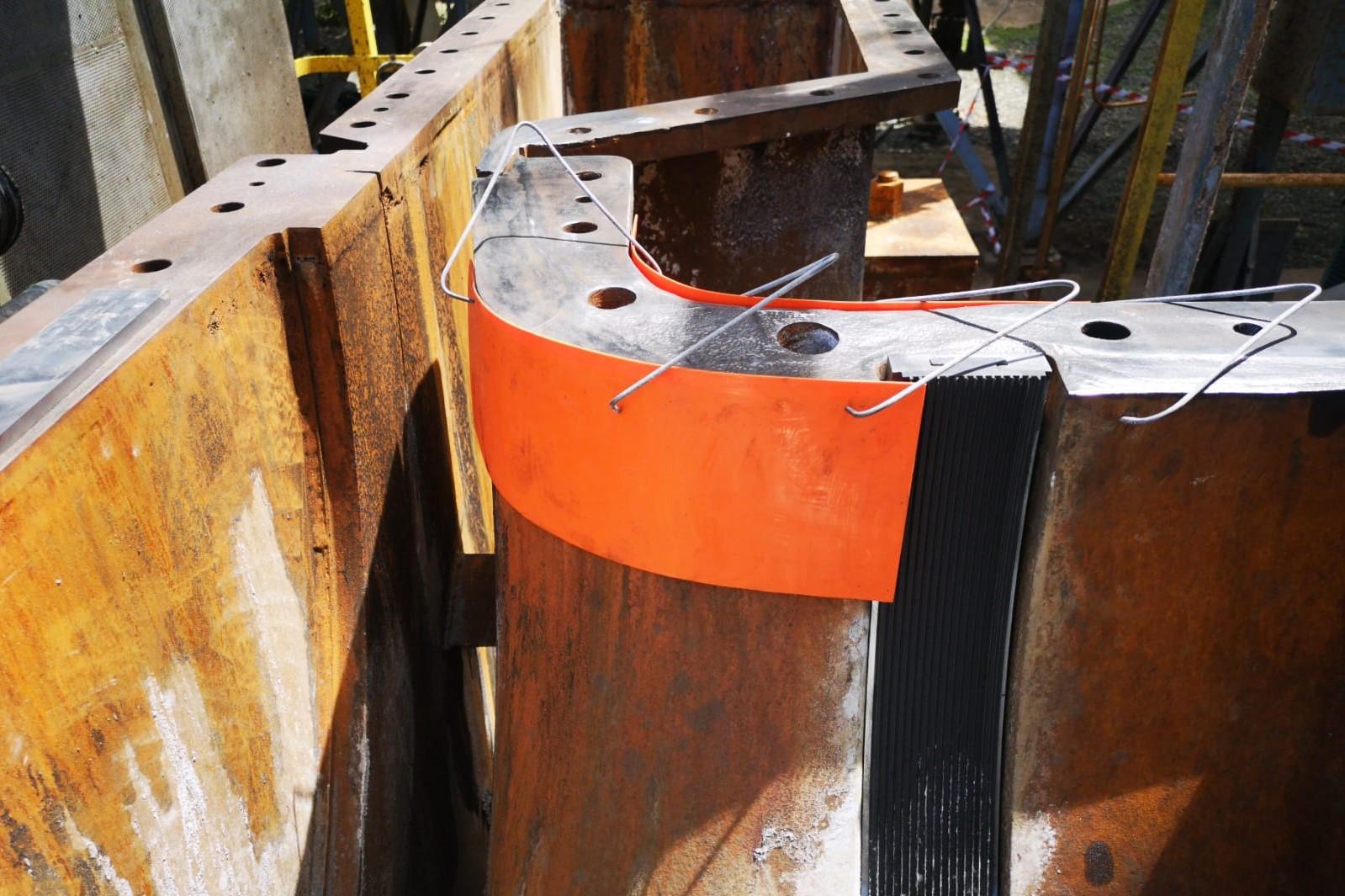 Belzona 1111 - Ricostruzione piano compressore - Preparazione