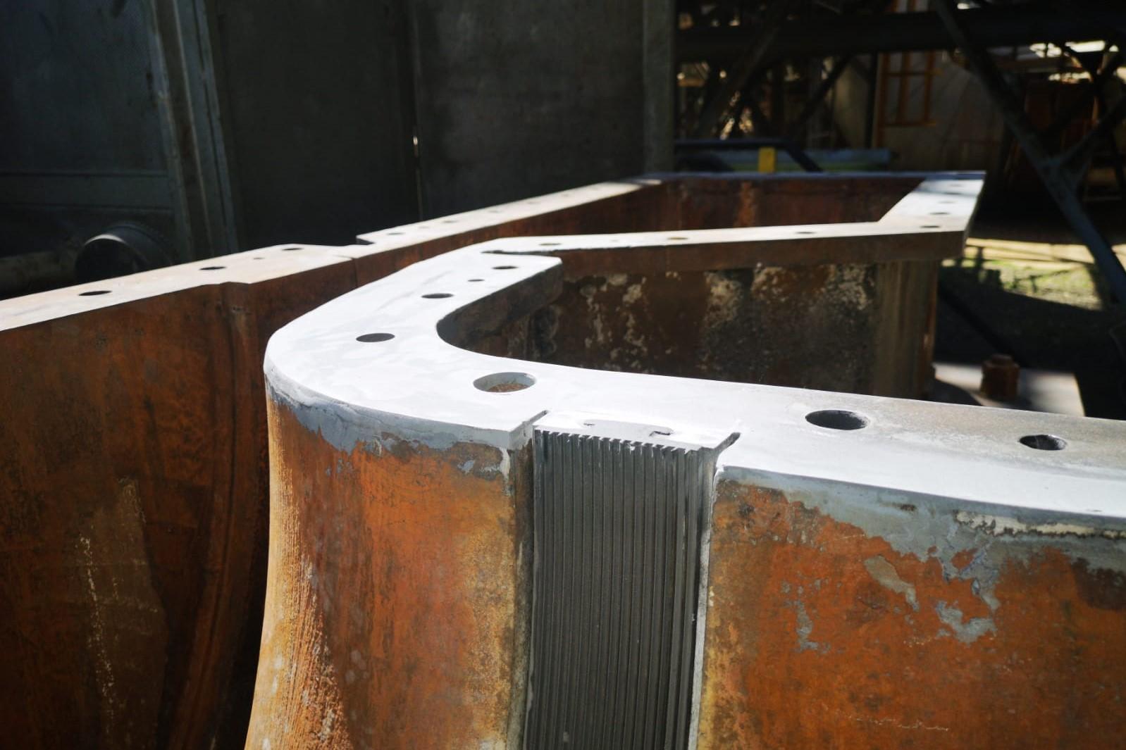 Belzona 1111 - Ricostruzione piano compressore