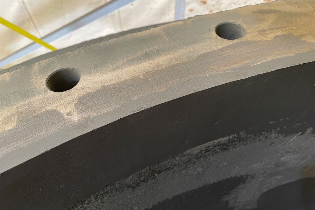 Belzona 1121 - Ricostruzione piano di flangia