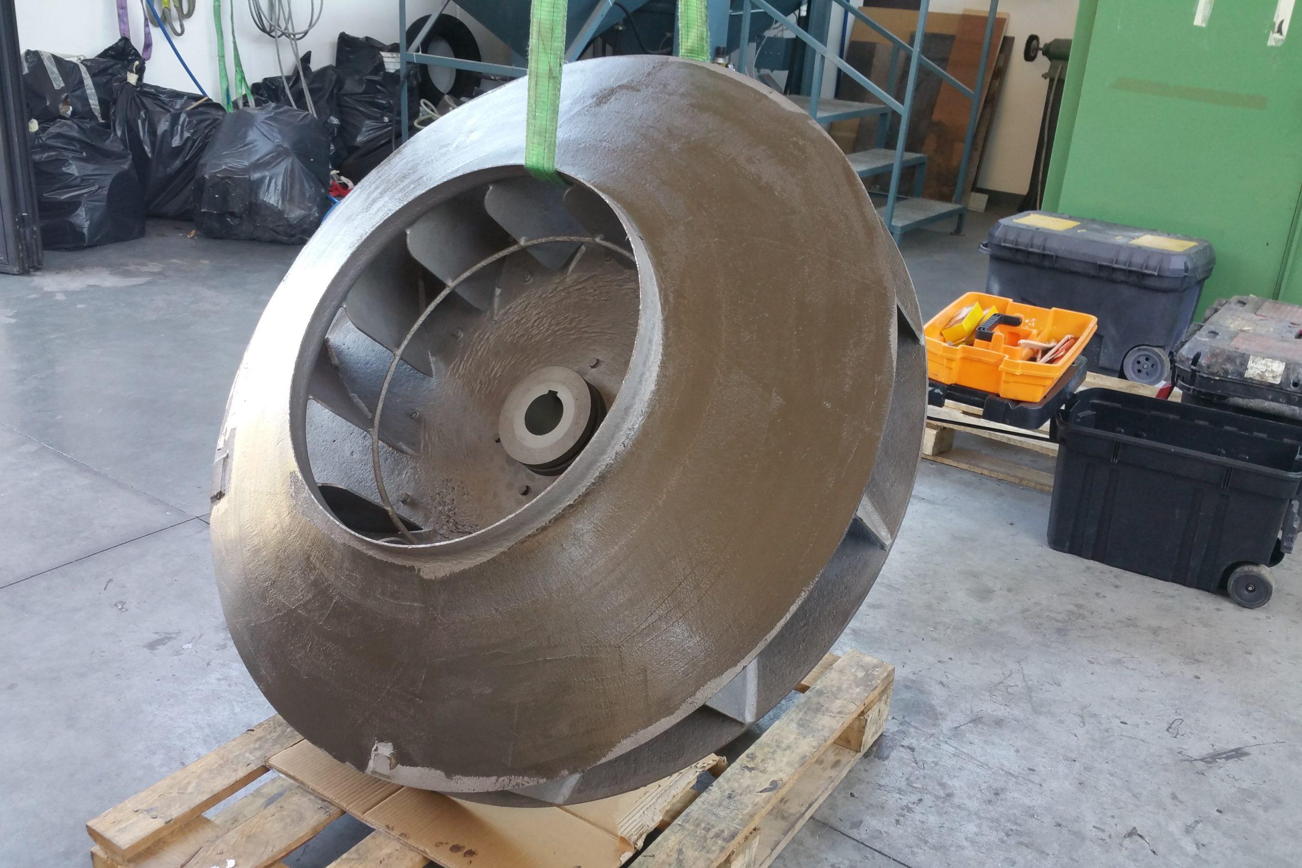 Belzona 1151 - Rasatura superficie ventilatore - originale 2